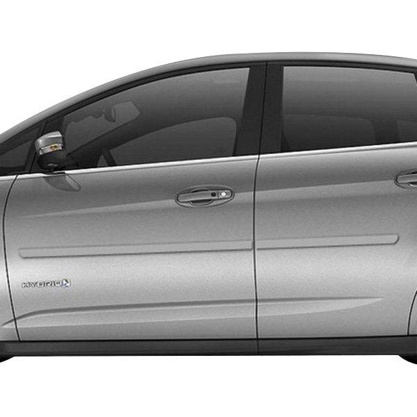 Dawn Ford Focus 4 Doors 2012 2015 Bodyside Moldings