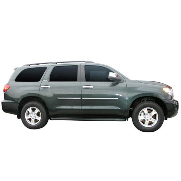Toyota Sequoia Chromeline Painted Body Side Molding 2008: Toyota Sequoia 2008-2014 Painted Bodyside
