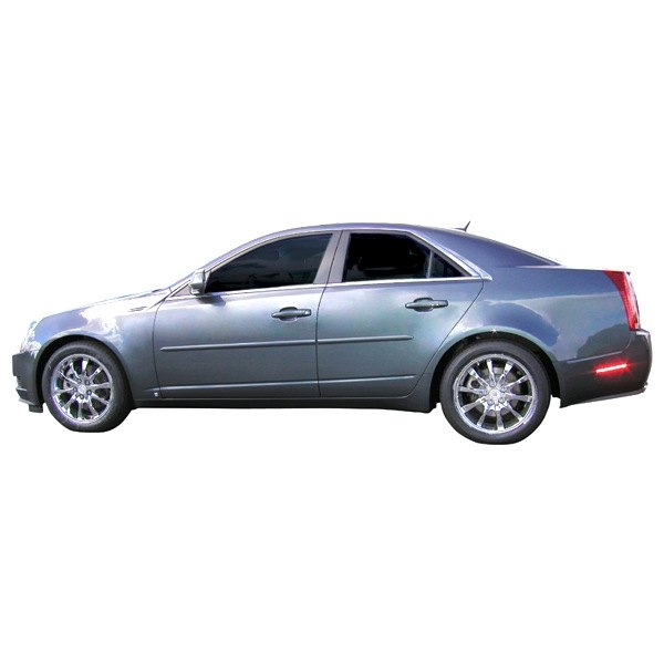 For Cadillac CTS 2008-2013 SAA WP48252 Polished Window Trim Package