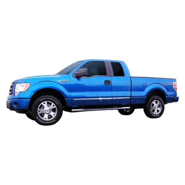 Ford F-150 2013 Chrome Lower Body Side Moldings