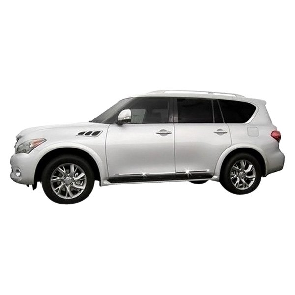 2019 Nissan Armada: For Infiniti QX80 2014-2019 Dawn Chrome Lower Body Side