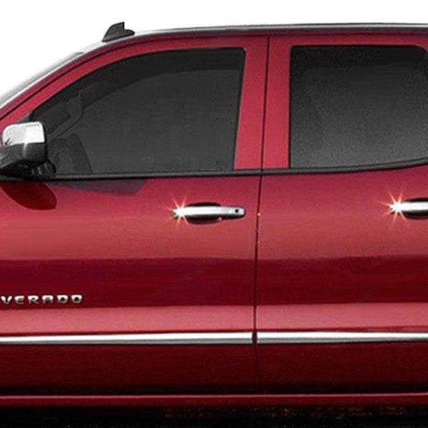 Dawn chevy silverado 2014 2016 chrome lower bodyside - 2014 chevy silverado interior accessories ...