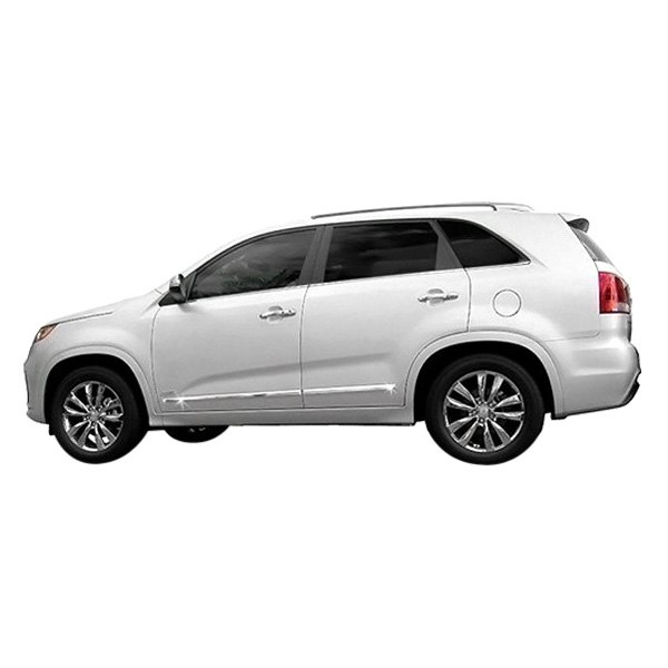 2011 Kia Sorento Accessories: Chrome Lower Body Side Moldings