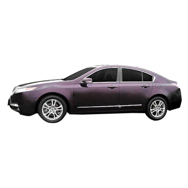 For Acura TL 2010-2014 Dawn Chrome Lower Body Side