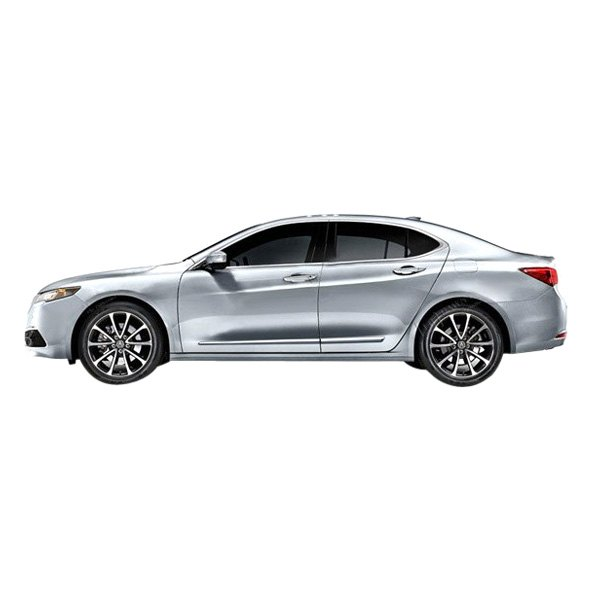 For Acura TLX 2015-2020 Dawn Chrome Lower Body Side