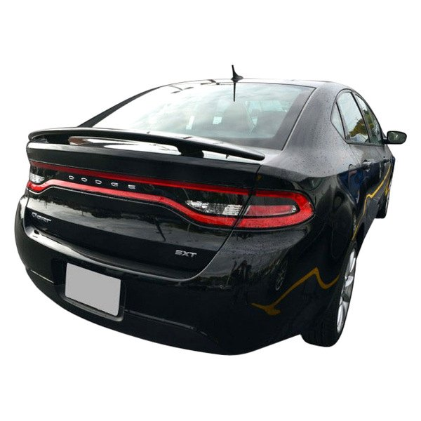 dawn dodge dart 2015 custom style rear spoiler. Black Bedroom Furniture Sets. Home Design Ideas