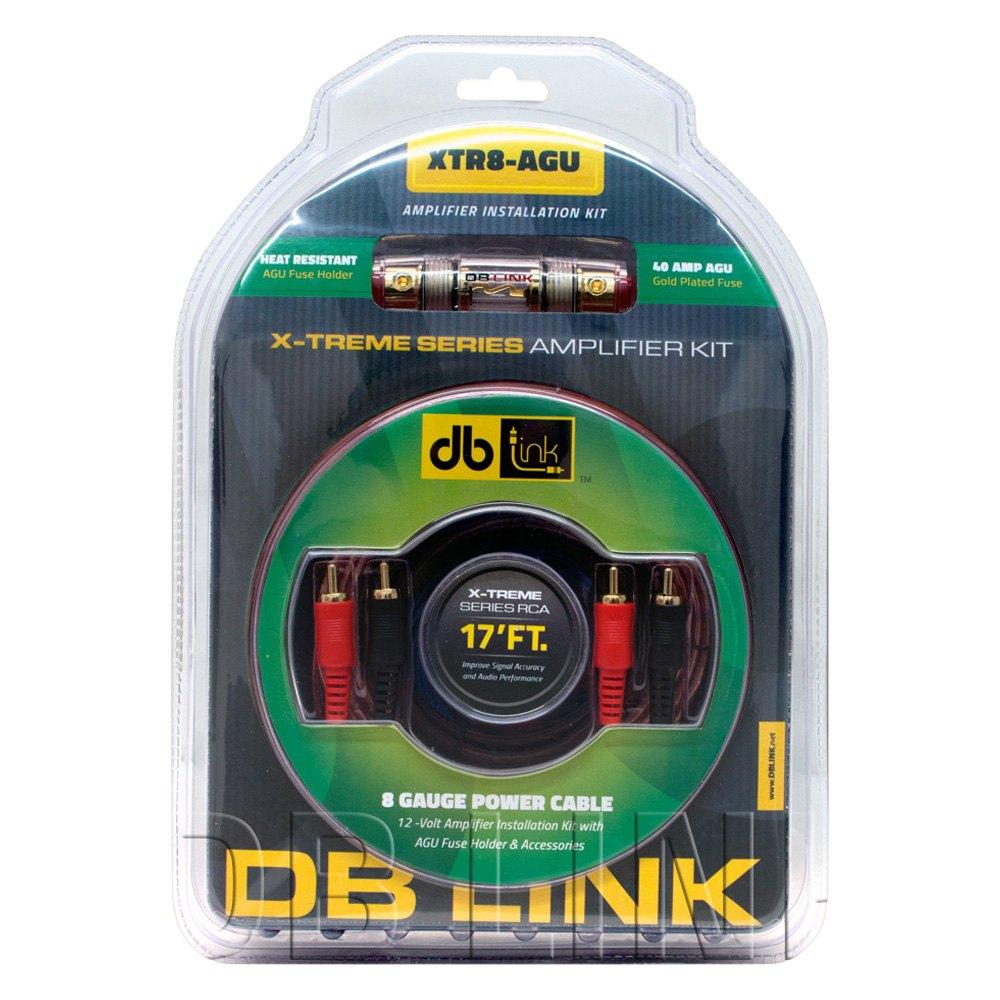 Db Drive Xtr8agu X Treme Series 8 Gauge Amplifier Wiring Kit For Cheap Amp Kits 900w Power