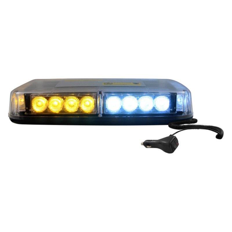 Db Link Elmlb24aw Mini Magnet Mount Amber White Emergency Led Light Bar