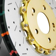 DBA® - 5000XS Series™ Drilled and Slotted Rotor