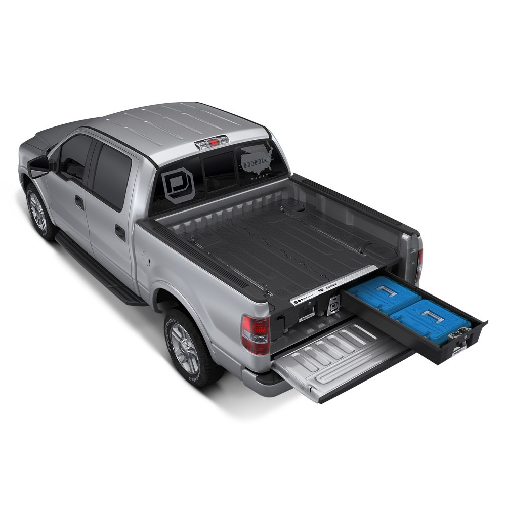 ... Truck Bed Storage System ...  sc 1 st  CARiD.com & DECKED® - Ford F-150 2015 Truck Bed Storage System