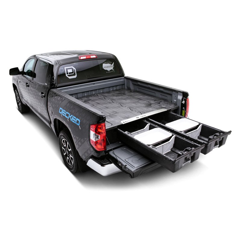 decked toyota tundra 2012 truck bed storage system. Black Bedroom Furniture Sets. Home Design Ideas
