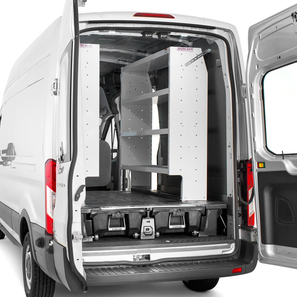 Ford transit van shelving equipment and accessories for Commercial van interior accessories