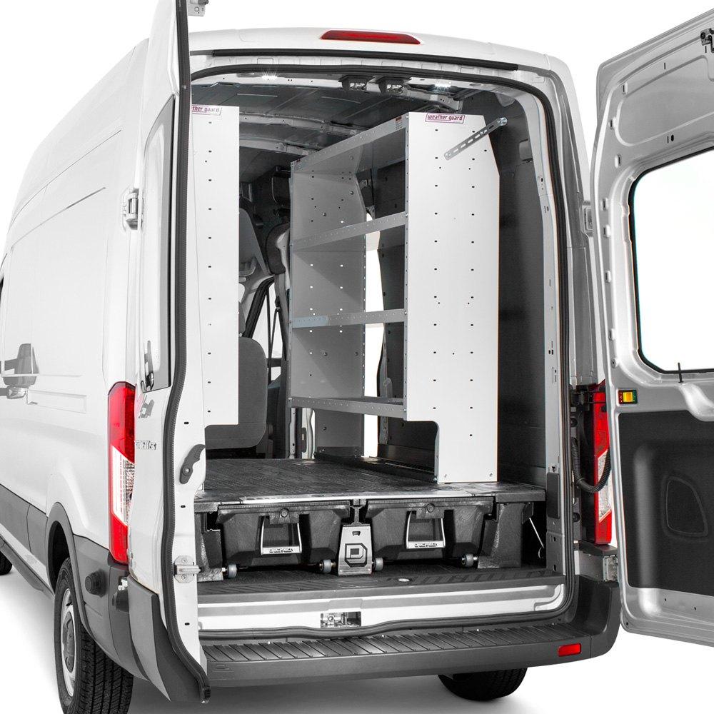 Decked 174 Ford Transit 2015 2017 Cargo Van Storage System