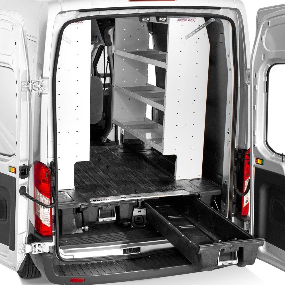 Decked 174 Vngm96exsv55 Cargo Van Storage System