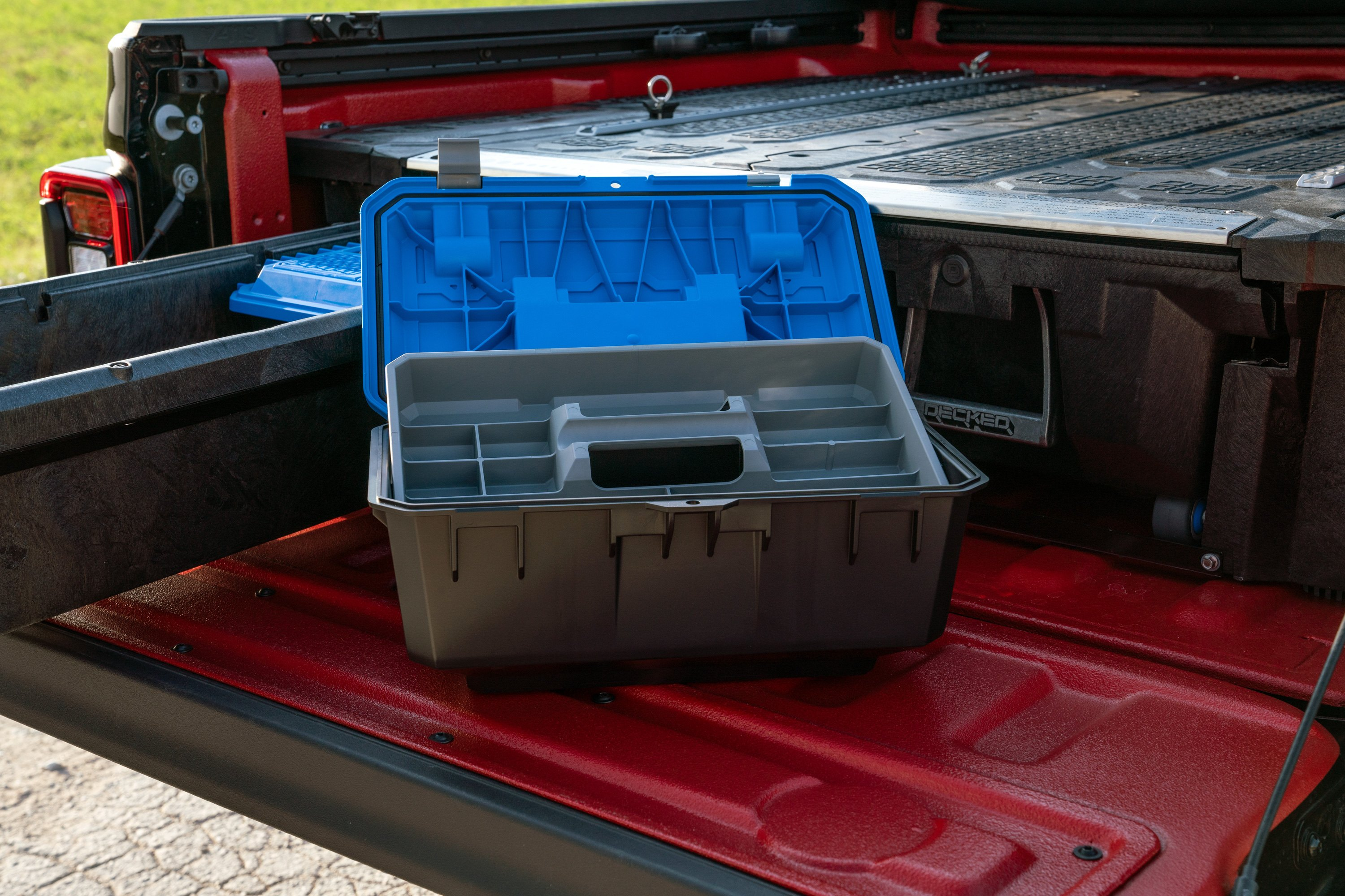 Decked Mj1 Midsize Truck Bed Storage System
