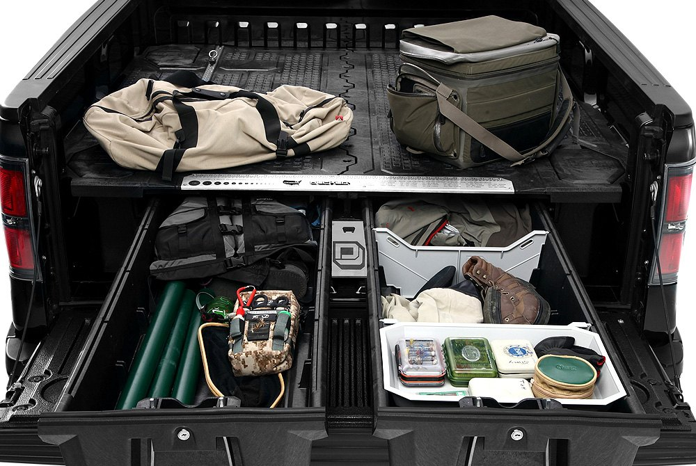 Truck Bed Storage System Decked Truck Bed Organizers Storage Systems Carid Com