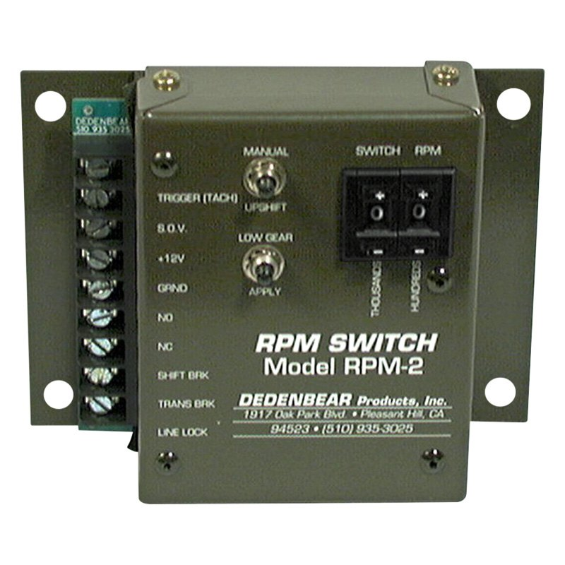 Dedenbear® - RPM Switch