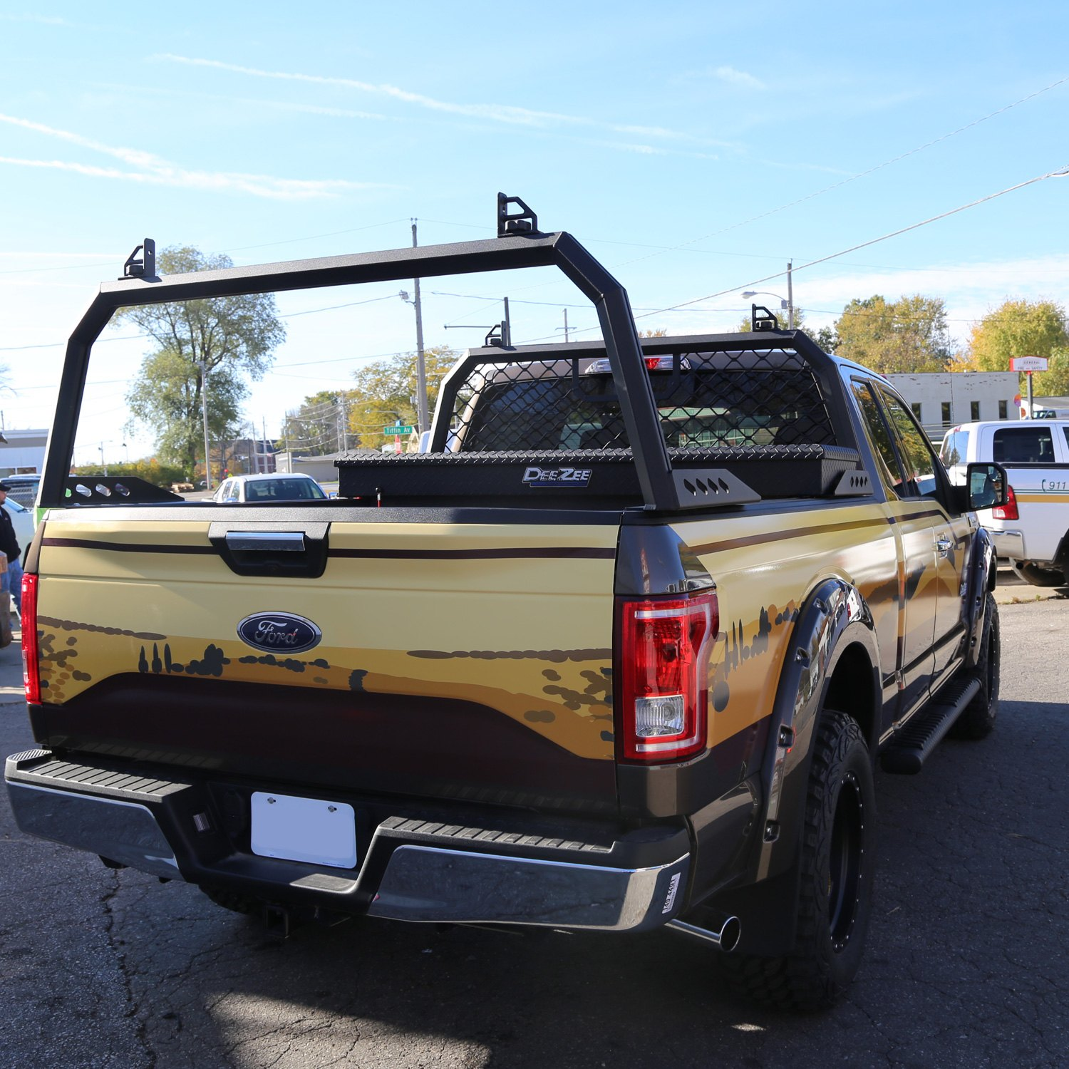 dee zee dodge ram 2500 3500 1994 2008 cab rack. Cars Review. Best American Auto & Cars Review