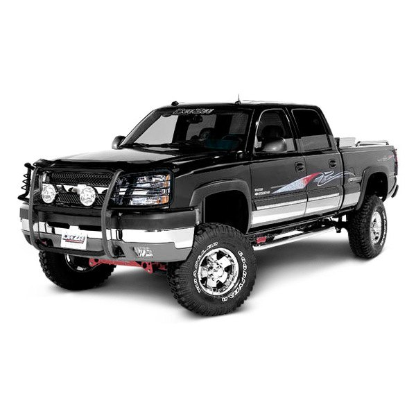 Grill Guards For Chevy Trucks : Dee zee chevy silverado euro style grille guard