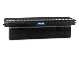 Dee Zee® - Blue Label Black Diamond Tread Single Lid Crossover Tool Box