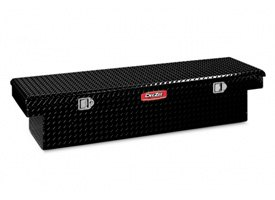 Dee Zee® - Red Label Black Diamond Tread Single Lid Crossover Tool Box