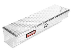Dee Zee® - Red Label Brite Diamond Tread Side Mount Tool Box