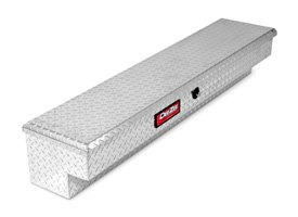 Dee Zee® - Red Plus Brite Diamond Tread Side Mount Tool Box
