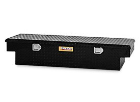 Dee Zee® - Yellow Label Black Diamond Tread Single Lid Crossover Tool Box