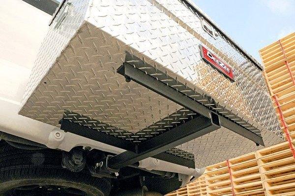 "Rv Bumper Hitch >> Dee Zee® DZ97906 - Hitch Cargo Carrier for 2"" Receivers"