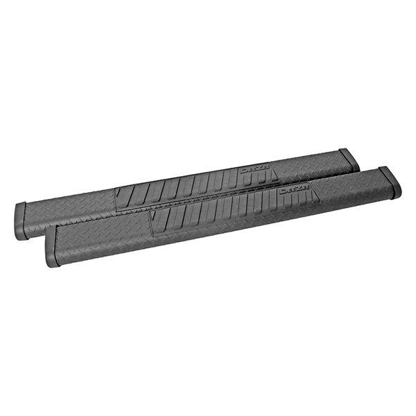 Dee Zee 174 Dz16411 6 Quot Oval Black Tread Aluminum Nerf Bars