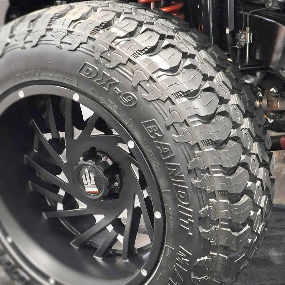 Best All Season Tires >> Delinte Tire LT35X12.5R20 Q DX9 BANDIT M/T All Terrain / Off Road / Mud 841623104825   eBay