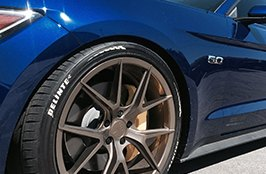DELINTE® - Tires on Ford Mustang