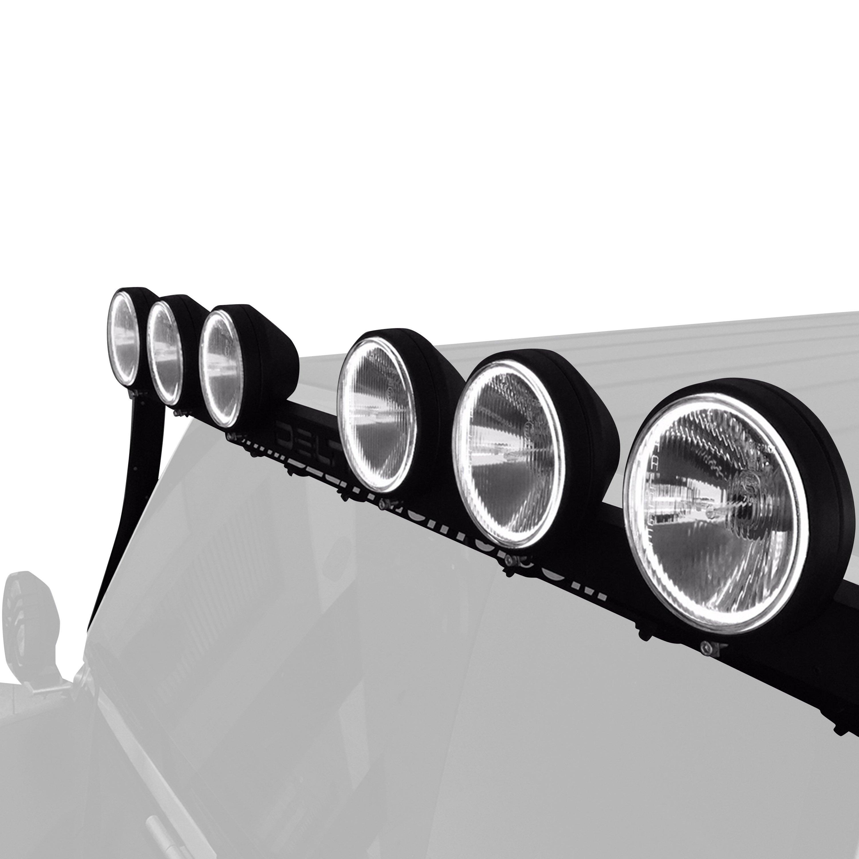 Delta Lights® 01-9570-500L - Windshield Frame Mounted SkyBar™ Bolt ...