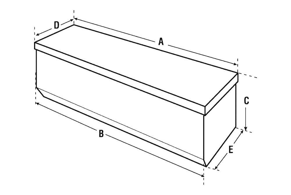 delta truck bed tool box