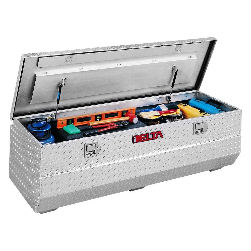 delta nissan titan 2012 standard single lid chest tool box. Black Bedroom Furniture Sets. Home Design Ideas