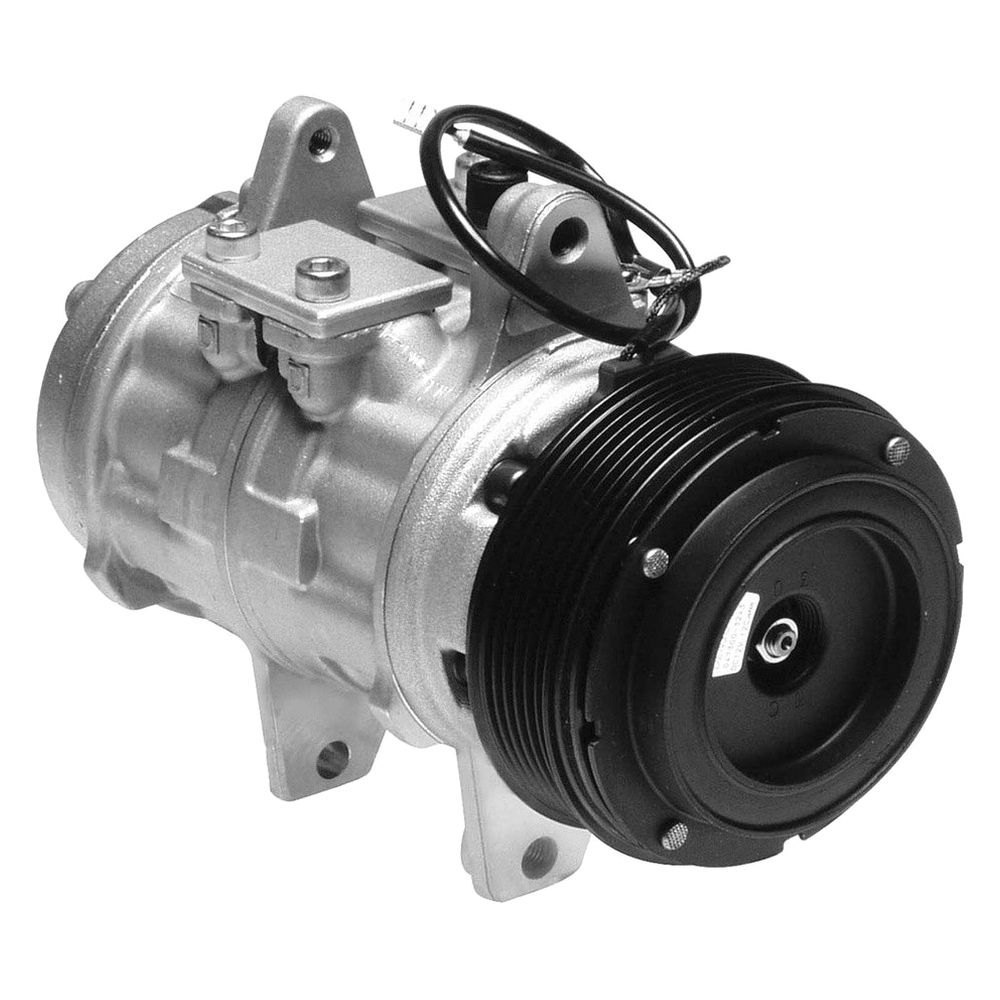 Denso 174 471 0128 Remanufactured A C Compressor With Clutch
