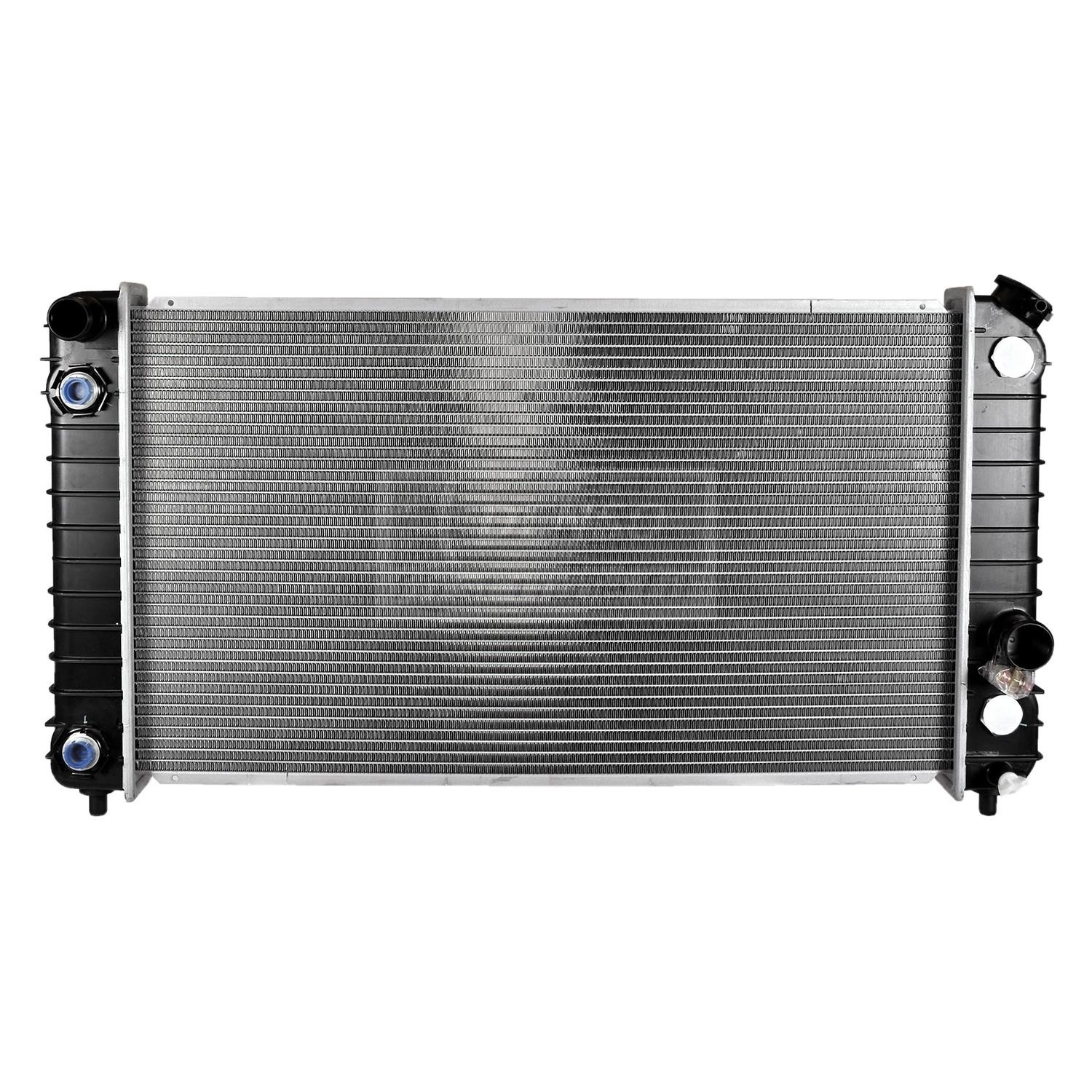 Denso chevy s pickup engine coolant radiator