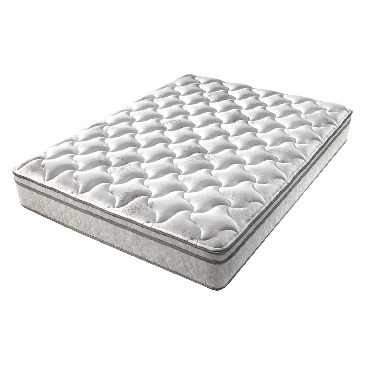 denver mattress 326395 supreme euro top short queen mattress