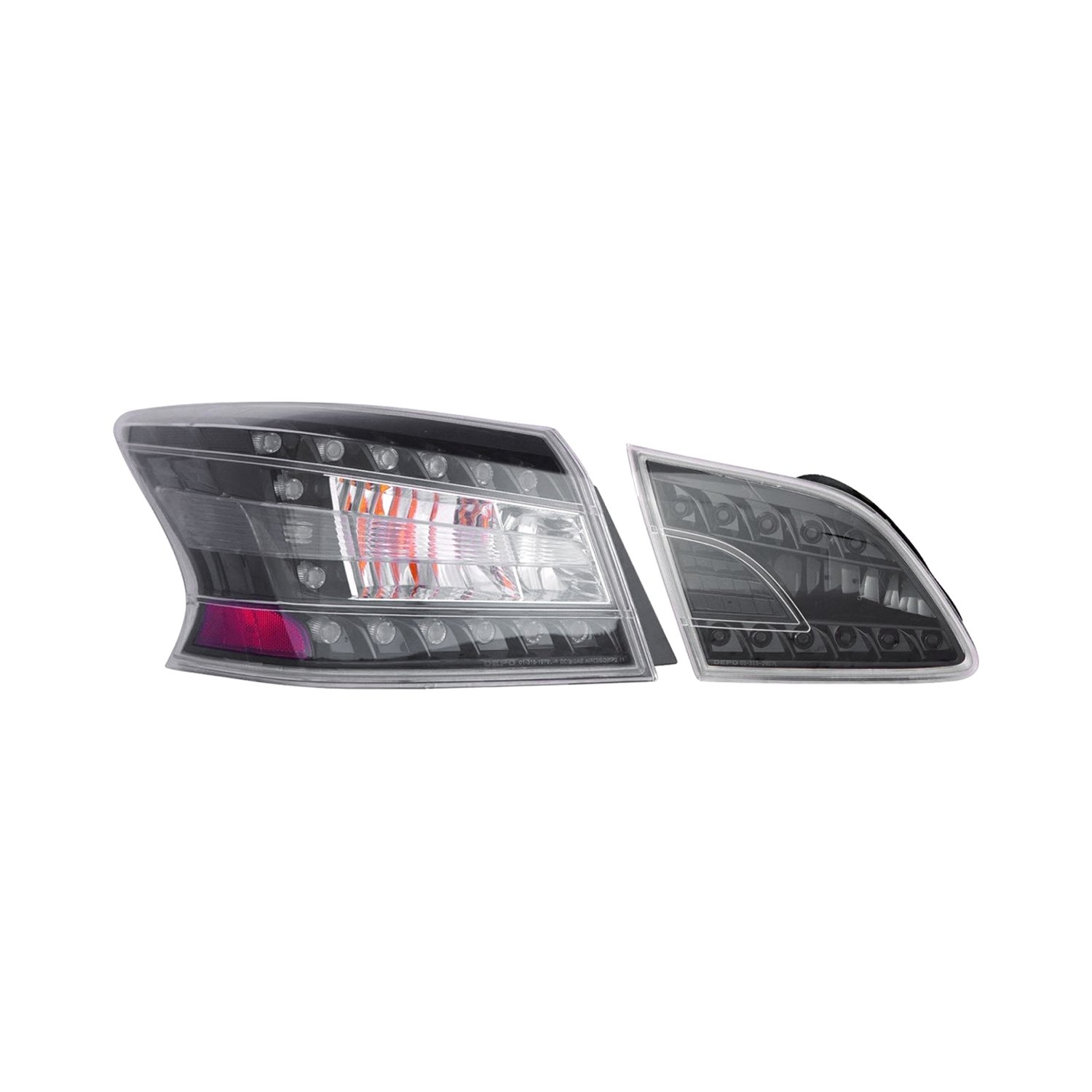Depo Driver And Penger Side Tail Lights