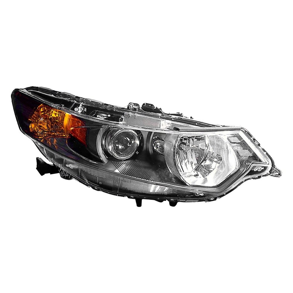 Depo Acura Tsx With Factory Hid Xenon Headlights 2010 Replacement Headlight Unit