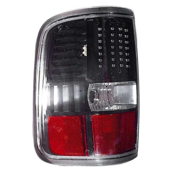 black red led tail light depo driver side black red led tail light. Black Bedroom Furniture Sets. Home Design Ideas