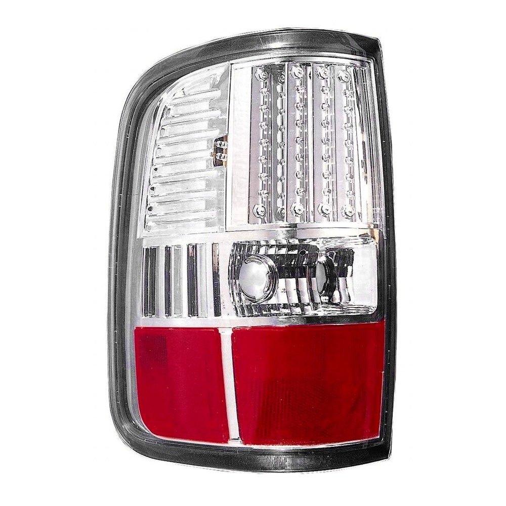 depo chrome red led tail light depo chrome led tail light. Black Bedroom Furniture Sets. Home Design Ideas
