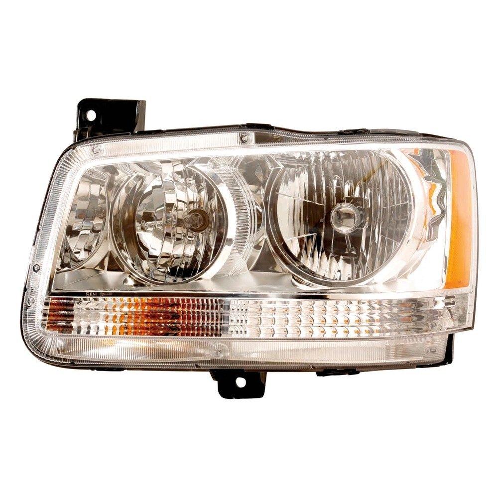 Dodge Replacement Headlights: Dodge Magnum With Factory Halogen Headlights 2008