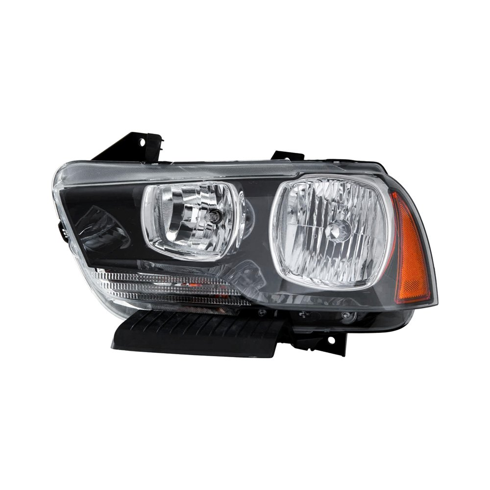 Dodge Replacement Headlights: Dodge Charger With Factory Halogen Headlights 2011