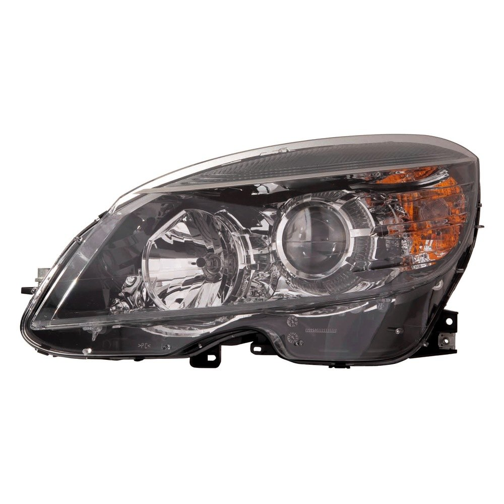 Depo mercedes c class 2008 replacement headlight for Mercedes benz aftermarket headlights