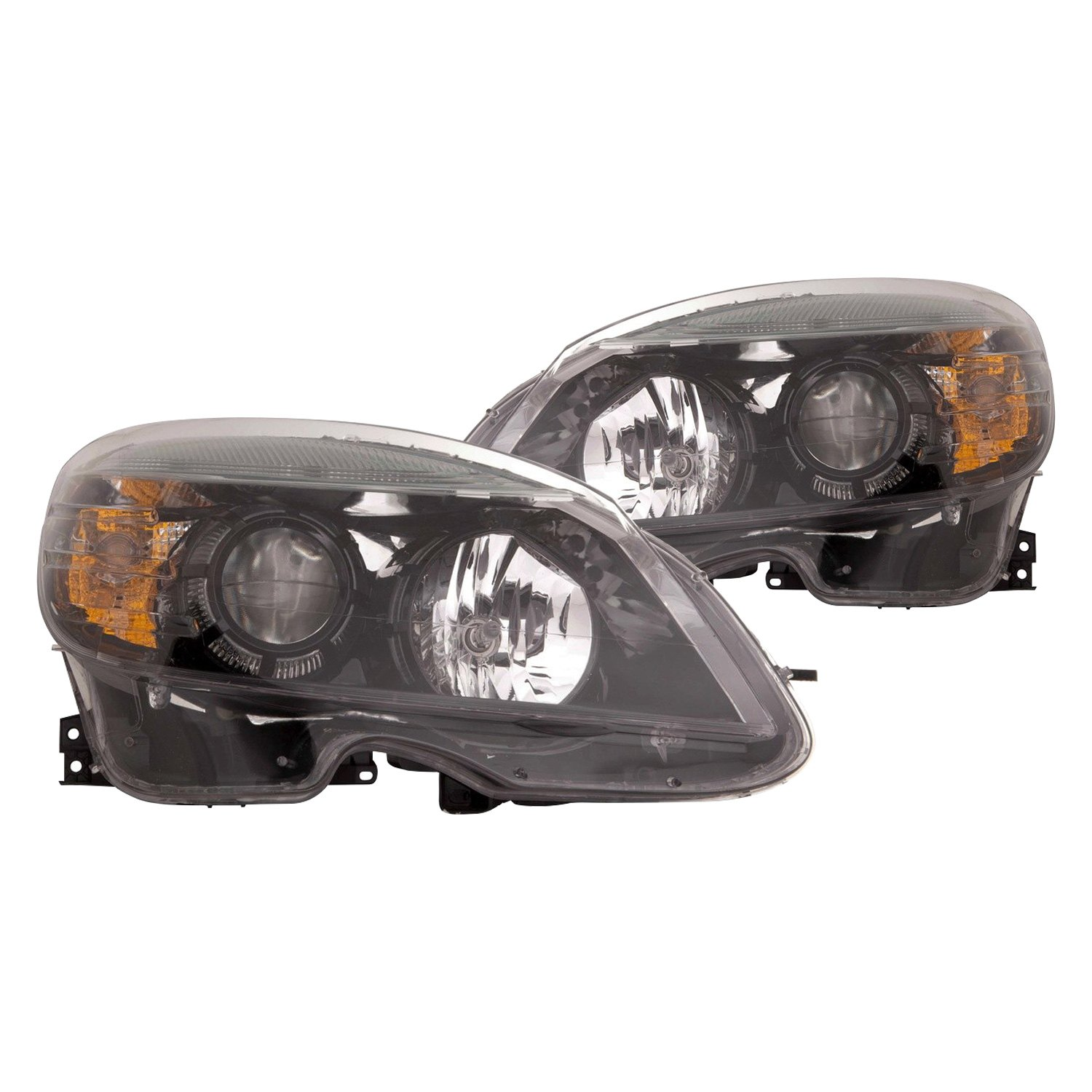 Depo mercedes c230 c300 c350 c63 amg with factory for Mercedes benz c300 headlights