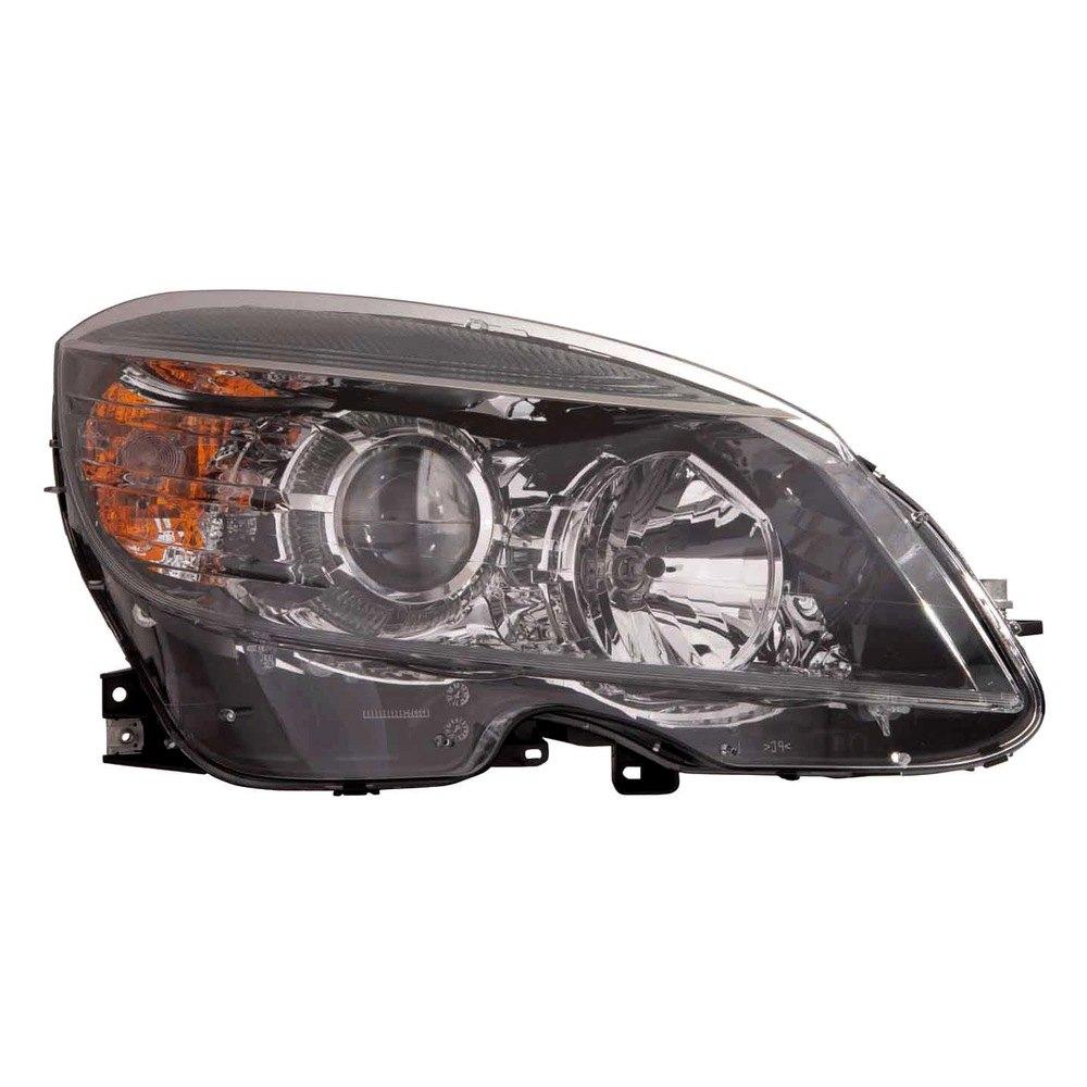 Depo mercedes c class 2008 replacement headlight for Mercedes benz c300 headlights