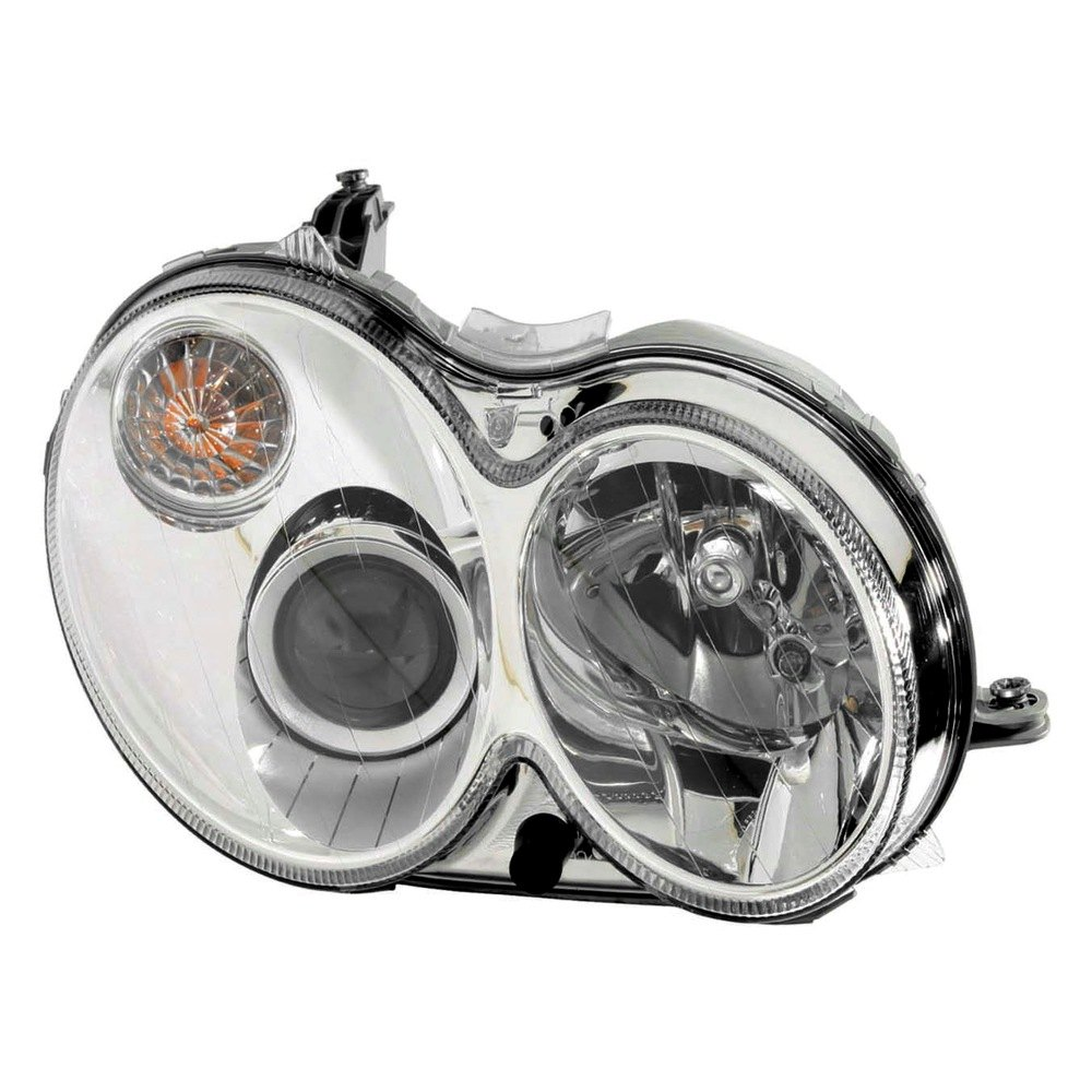 Depo mercedes clk350 clk500 clk55 amg 2006 for Mercedes benz headlight replacement