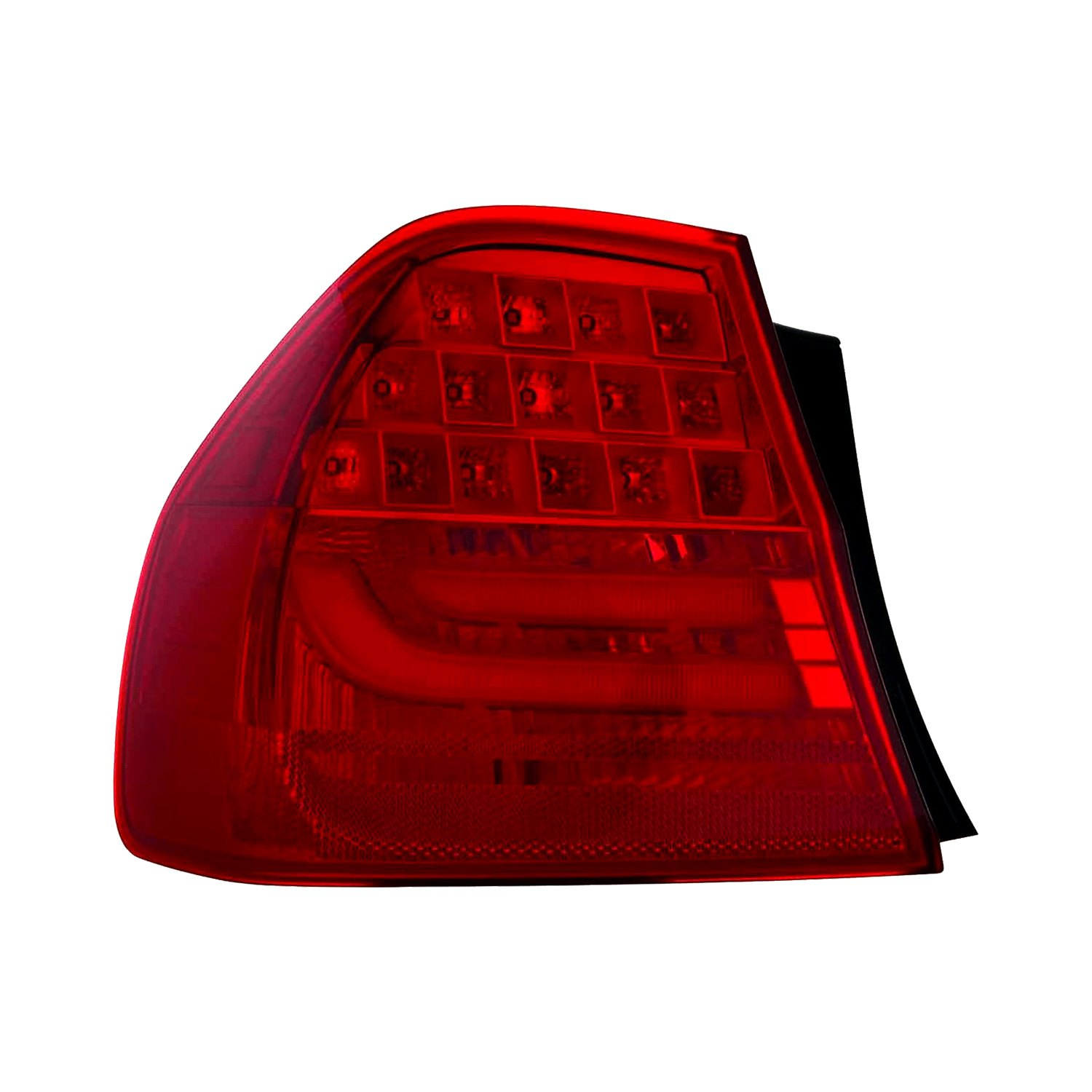 depo bmw 3 series sedan 2009 2011 replacement tail light. Black Bedroom Furniture Sets. Home Design Ideas
