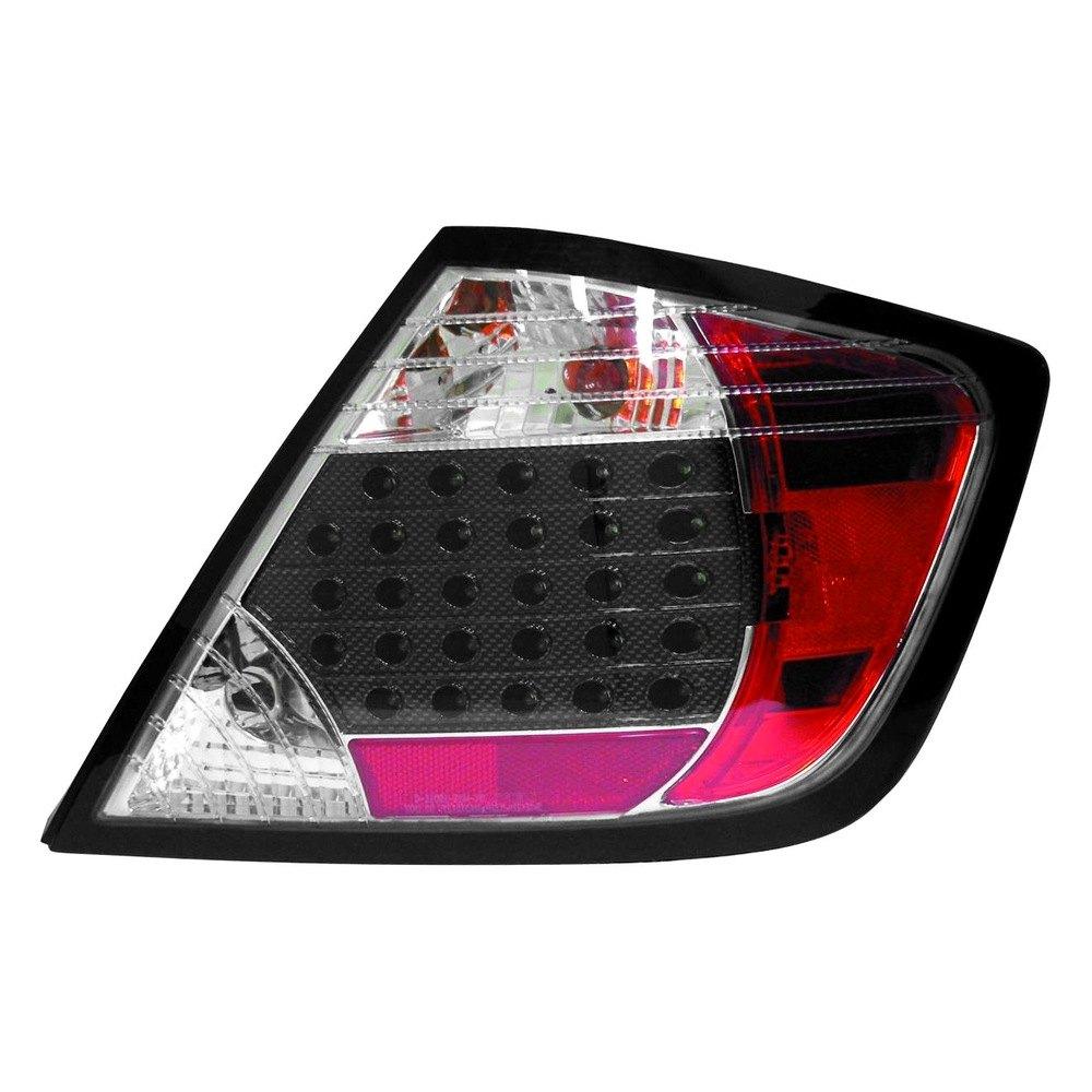 Depo Scion Tc 2006 Driver Side Black Red Led Tail Light